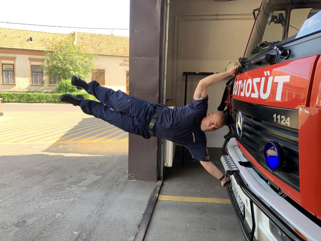 Kihívás napja a hatvani tűzoltóknál