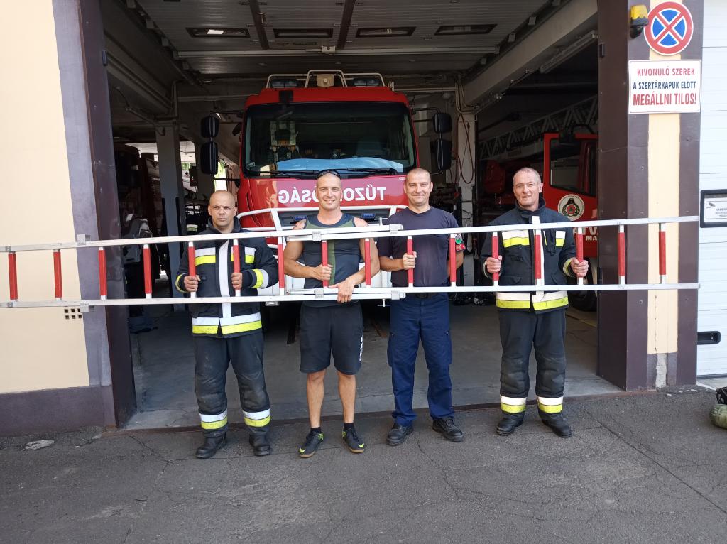 Újabb kihívást tudatak le a hatvani tűzoltók