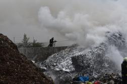 Eloltották a Lőrinci határában lévő feldolgozóüzemben keletkezett tüzet